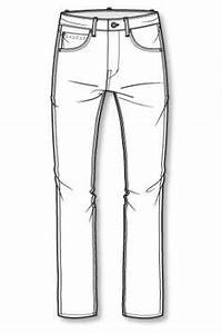 Jeans and Trousers Line Drawings on Pinterest | Wide Leg ...