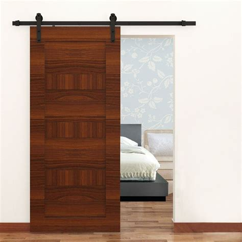 Closet Door Glides by 6ft Black Steel Antique Country Sliding Wooden Door