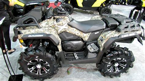 outlander  camo recreational atv