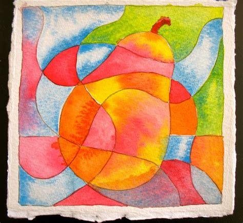fruit  sketchbook color exercises    images