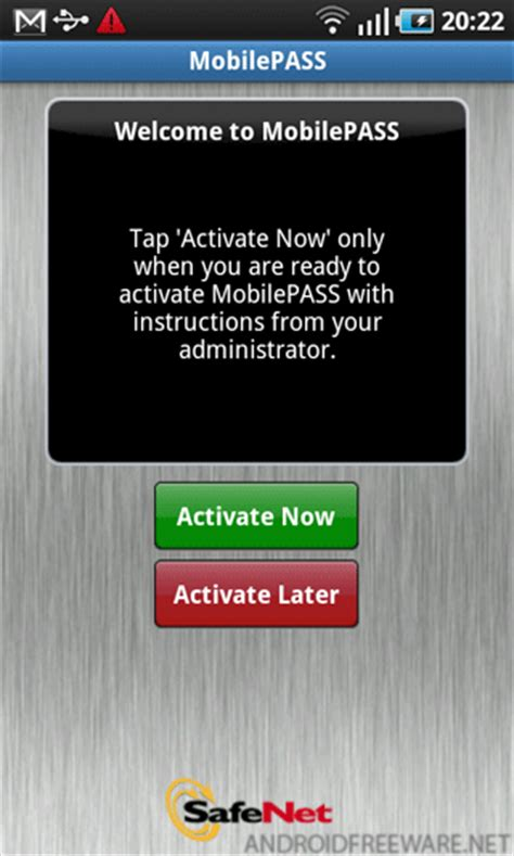 safenet mobilepass android app  apk  safenet