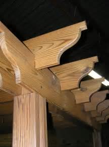 Pergola Rafter End Designs