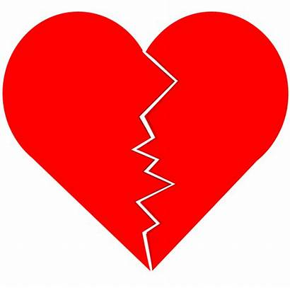 Broken Heart Clipart Cracked Vector Clip Heartbreak
