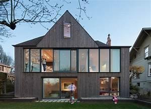 Tudor-Style Home in Seattle Gets a Bold Modern Rear Facade