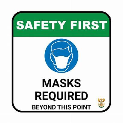 Required Masks Covid Sign Office Abs Signs