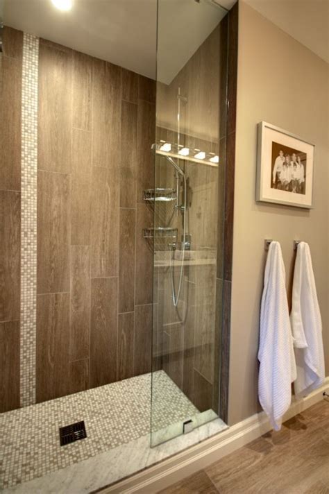 25  best ideas about Wood Tile Shower on Pinterest