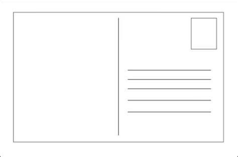 blank postcard template mailing printable business postcard template calendar template letter format printable