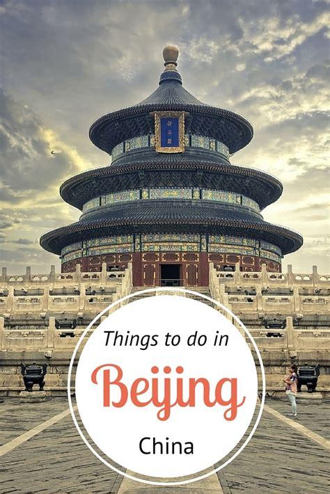 beijing tourism bureau insiders guide what to do in beijing china