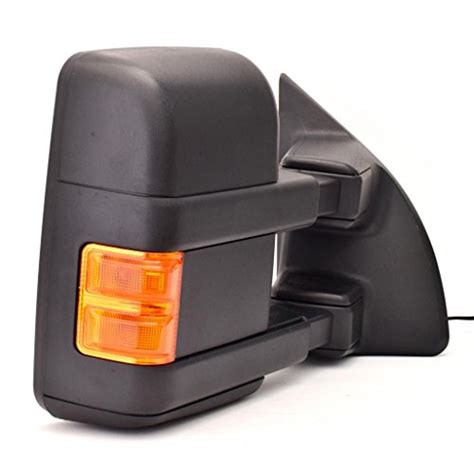 dedc ford towing mirror right passenger side power heated w turn signal light mirrors for 08 15
