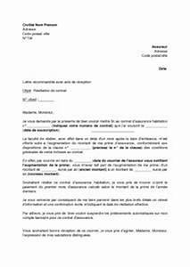 Remboursement Assurance Emprunteur Lettre Type : the 25 best ideas about lettre de r siliation on ~ Gottalentnigeria.com Avis de Voitures