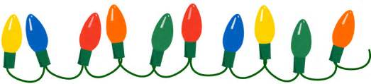 light bulb clipart happy holidays