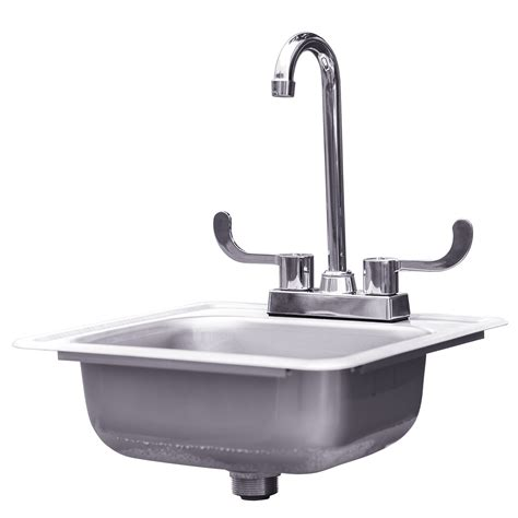 drop in kitchen sink with faucet stainless steel drop in sink with faucet summerset