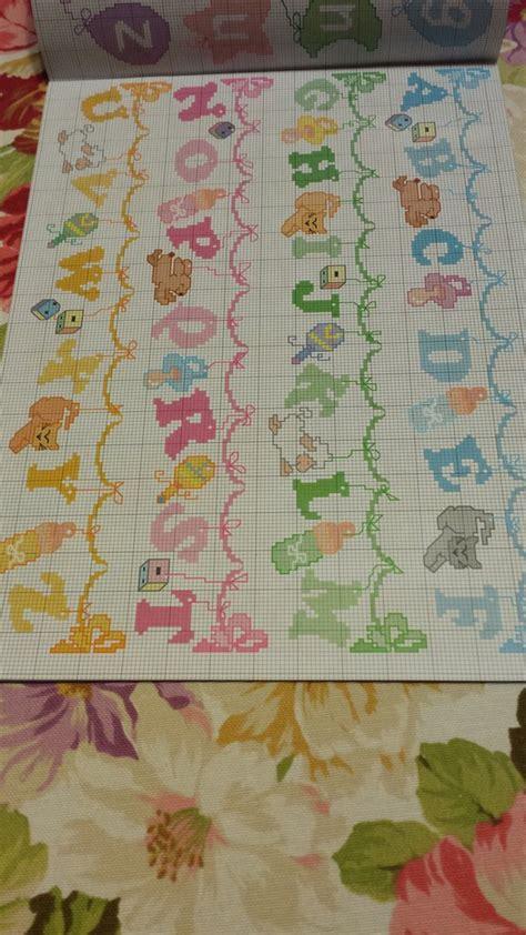 lettere dell alfabeto a punto croce schema alfabeto punto croce bambini libri schemi e