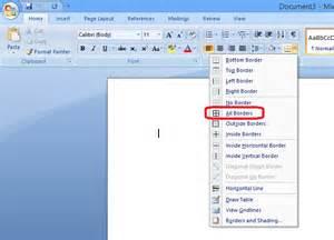 Microsoft Word Paragraph Border