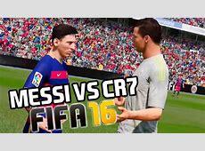 Messi vs Cristiano Ronaldo FIFA 16 YouTube