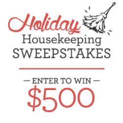 Join in the Holiday Housekeeping Sweepstakes - Zazzle Blog