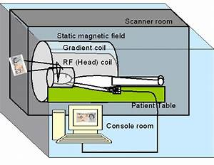 2 A Schematic Diagram Of Functional Mri Scanning