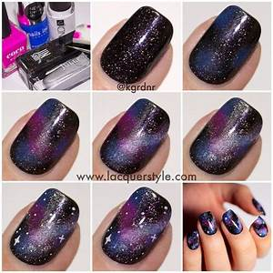 Beautiful galaxy nails art design ideas best pictures