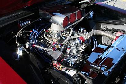Chevy Rod Muscle Engine Wallpaperup Chevron 1966