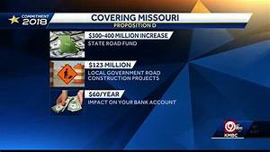 Voter U2019s Guide  Prop D Would Upgrade Missouri Roads