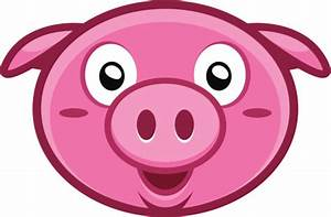 Pig Head Cartoon - ClipArt Best