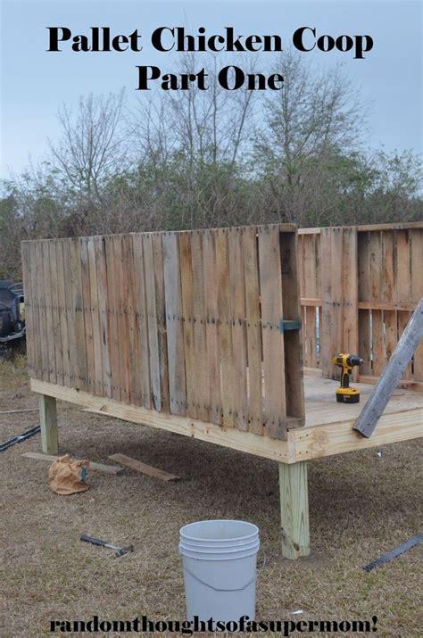 ideas  chicken coop pallets  pinterest