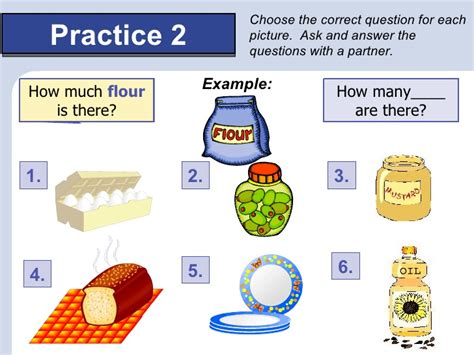 Questions With Any, Some, How Much, How Many; Quantity