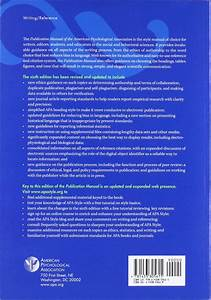 Apa Manual Sixth Edition Pdf  Formatting  Title Page  2019
