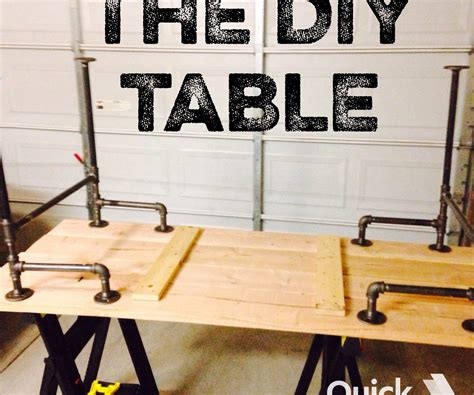 30067 black pipe furniture newest black iron pipe table 6 steps with pictures
