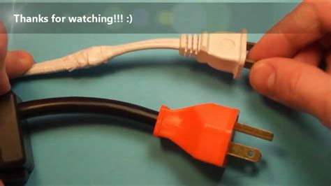 fix  broken electrical cord wire youtube