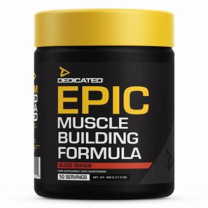 Epic Dedicated Nutrition Muscle Blood Serves Builder