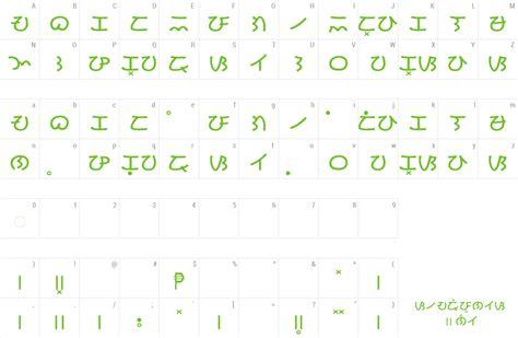 font baybayin modern kana