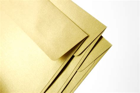 a 7 envelope a7 5x7 gold envelopes perfect for 5x7 wedding