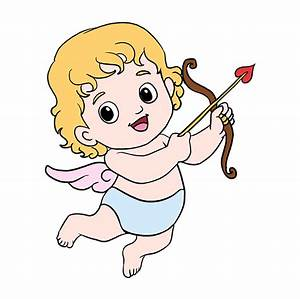 How to Draw Cupid - Really Easy Drawing Tutorial