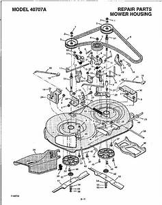 Solved  Drive Belt Diagram For 42 Murray 14 5 Hp