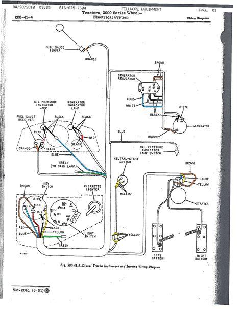 John Deere Starter Switch Wiring Diagram
