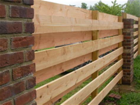 Garten Selber Gestalten Günstig by Zwei Lagiger Holzzaun Aus Douglasie Bauunternehmen