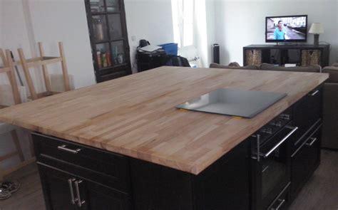 renovation de cuisine avec plans de travail en hetre
