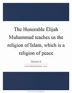 The Honorable E... Muhammad Religion Quotes