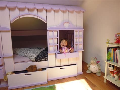 cabane de chambre chambre cabane enfant lit cabane en bois pour enfant