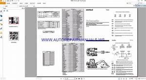 Caterpillar 307 Swing Boom Excavator Electrical Schematics Manuals Renr1174 01