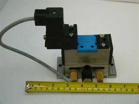 festo solenoid valve 159688 151 24vdc 10bar p302 mn1h 5 2