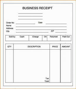 3 business receipt template printable receipt With business receipt template
