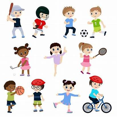 Children Clip Clipart Playing Kinder