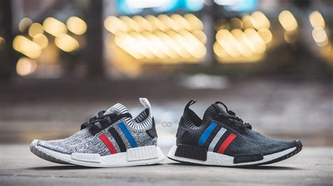 review on feet adidas nmd r1 primeknit quot tri color pack