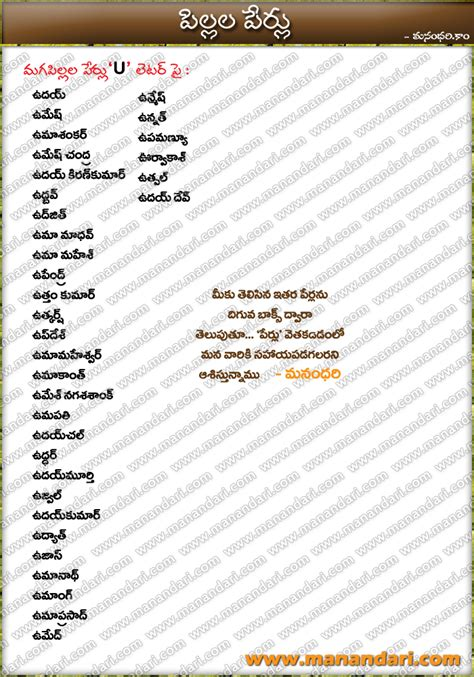 tags telugu baby boys names starting with b letter boys names beginning with a 63874