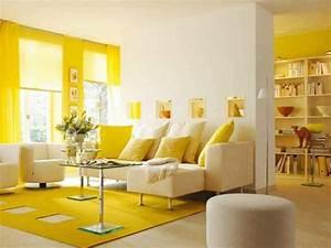 pourquoi opter pour un salon jaune With tapis jaune citron