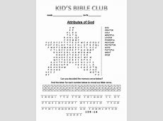 Printable Teenage Bible Activity Worksheets Worksheets for