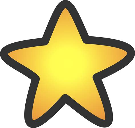 Gold Star Clipart | Clipart Panda - Free Clipart Images