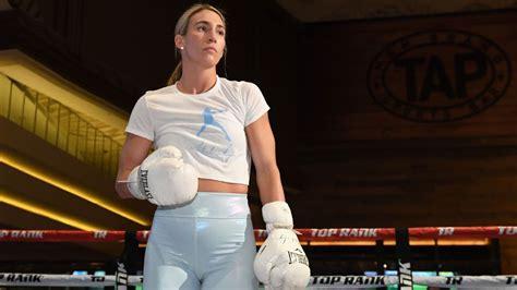 mikaela mayer ready    change  womens boxing